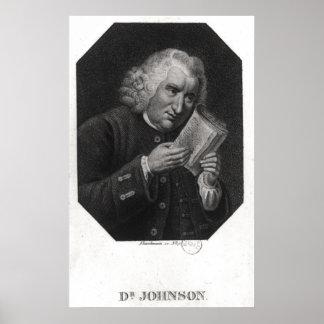 Dr. Samuel Johnson Poster