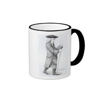 Dr Samuel Johnson Ringer Coffee Mug