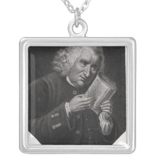 Dr. Samuel Johnson Silver Plated Necklace