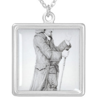 Dr Samuel Johnson Silver Plated Necklace