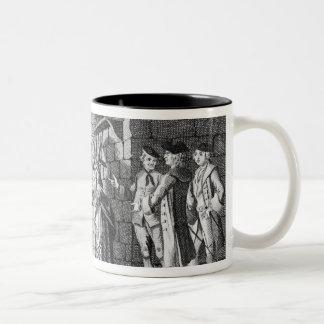 Dr Samuel Johnson's Introduction to a Highland Two-Tone Coffee Mug