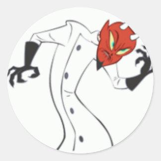 Dr Satan Classic Round Sticker