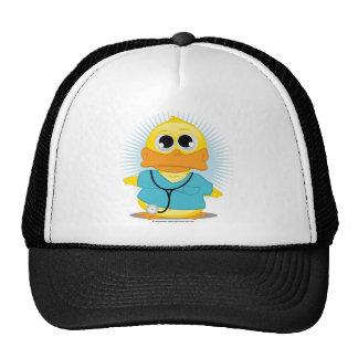 Dr Scrubs Duck Trucker Hat