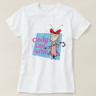 Dr. Seuss | Cindy-Lou Who - Candy Cane T-Shirt