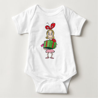Dr. Seuss | Cindy-Lou Who - Holding Present Baby Bodysuit
