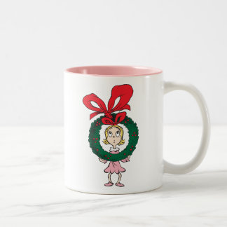 Dr. Seuss | Cindy-Lou Who - Wreath Two-Tone Coffee Mug