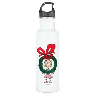 Dr. Seuss | Cindy-Lou Who - Wreath Water Bottle
