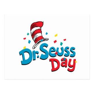 Dr. Seuss Day | Confetti Postcard