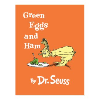 Dr. Seuss | Green Eggs and Ham Postcard