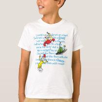 Dr. Seuss | Green Eggs And Ham Storybook Pattern T-Shirt