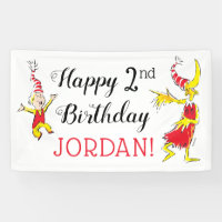 Dr. Seuss | Happy Birthday to You Banner