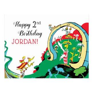 Dr Seuss | Happy Birthday To You! Postcard