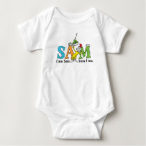 Dr. Seuss | I Am Sam. Sam I Am. Baby Bodysuit