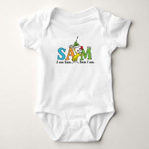 Dr. Seuss | I Am Sam. Sam I Am. Baby Bodysuit