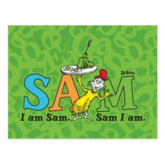 Dr. Seuss | I Am Sam. Sam I Am. Postcard