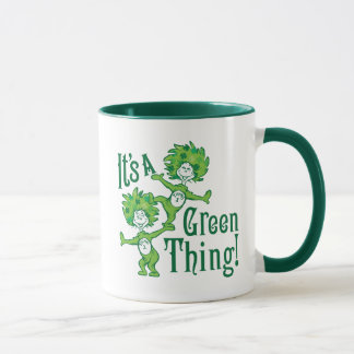 Dr. Seuss | It's a Green Thing! Mug for St Patrick's Day