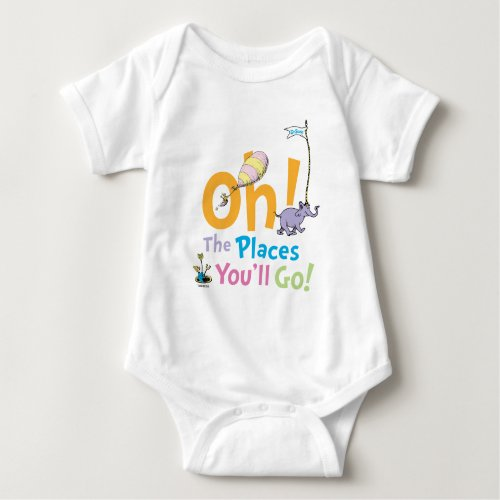 Dr. Seuss | Oh, The Places You'll Go! Baby Bodysuit