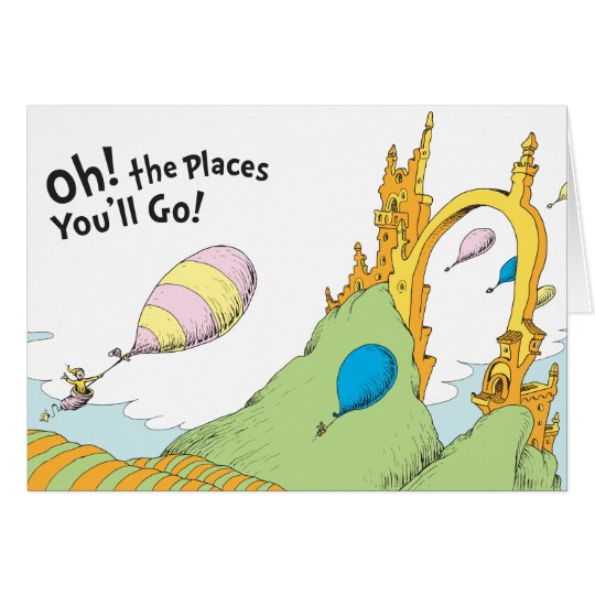 Dr Seuss Oh The Places You Ll Go Hand Painted Ceiling Fan Blades