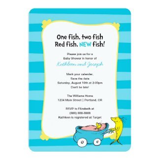 Dr. Seuss | One Fish - Boy Baby Shower