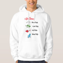 Dr. Seuss | One Fish Two Fish - Vintage Hoodie