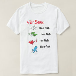 Dr. Seuss | One Fish Two Fish - Vintage T-Shirt