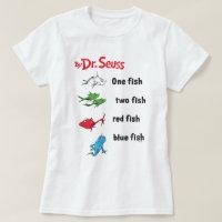 Dr. Seuss | One Fish Two Fish - Vintage T-Shirt