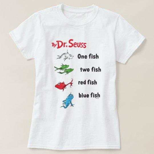 Dr Seuss Kids Shirts: One Fish Two Fish - Vintage T-Shirt
