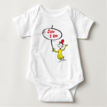 Dr. Seuss | Sam-I-Am Holding Sign Baby Bodysuit