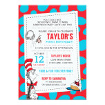 Dr. Seuss   The Cat in the Hat Birthday Card<br><div class='desc'>Celebrate your child&#39;s Birthday with The Cat in the Hat! These fun Birthday invitations are fully customizable.</div>