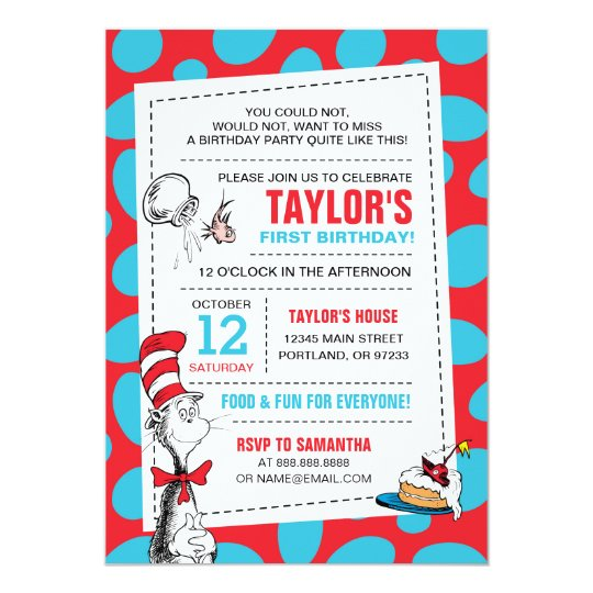Dr seuss the cat in the hat birthday card zazzle dr seuss the cat in the hat birthday card bookmarktalkfo Choice Image