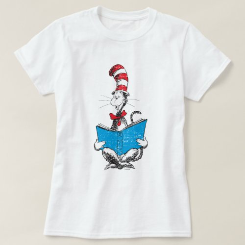 Dr Seuss  The Cat in the Hat _ Reading T_Shirt