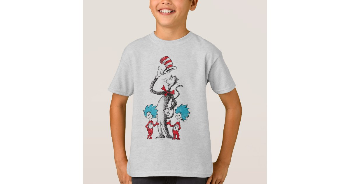 Dr Seuss The Cat In The Hat Thing 1 Amp Thing 2 T Shirt