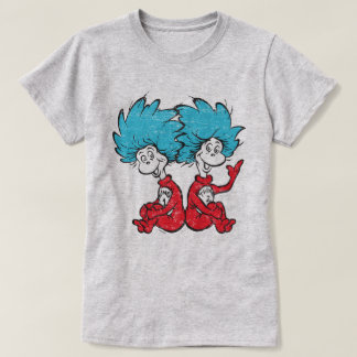 Dr. Seuss   The Cat in the Hat - Thing 1, Thing 2 T-Shirt