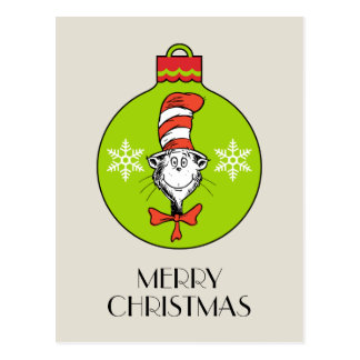 Dr Seuss | The Grinch | Classic The Cat in the Hat Postcard