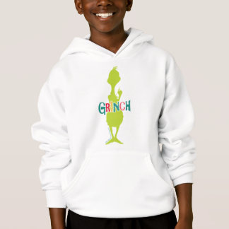 Dr. Seuss | The Grinch - Green Silhouette Hoodie