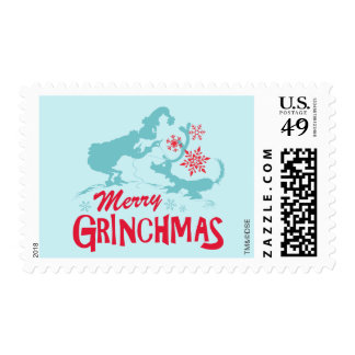 Dr. Seuss | The Grinch - Merry Grinchmas Postage