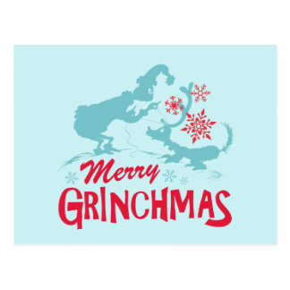 Dr. Seuss | The Grinch - Merry Grinchmas Postcard
