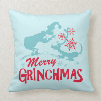 Dr. Seuss | The Grinch - Merry Grinchmas Throw Pillow
