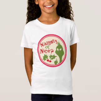 Dr. Seuss | The Grinch - Naughty or Nice? T-Shirt