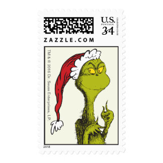 Dr. Seuss | The Grinch Postage