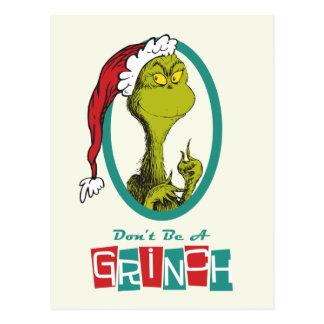 Dr. Seuss | The Grinch Postcard