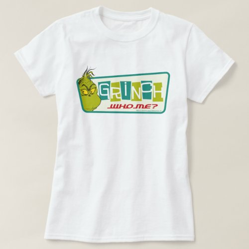 Dr. Seuss | The Grinch - Who Me? T-Shirt