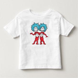 Dr. Seuss   Thing 1, Thing 2 Sitting Toddler T-shirt