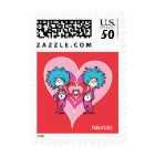 Dr. Seuss Valentine | Thing 1 Thing 2 Postage
