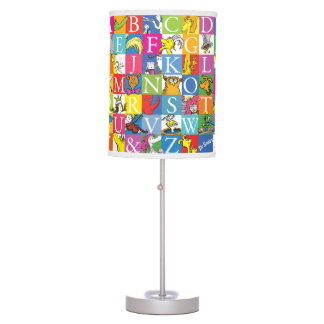 Dr. Seuss's ABC Colorful Block Letter Pattern Table Lamp