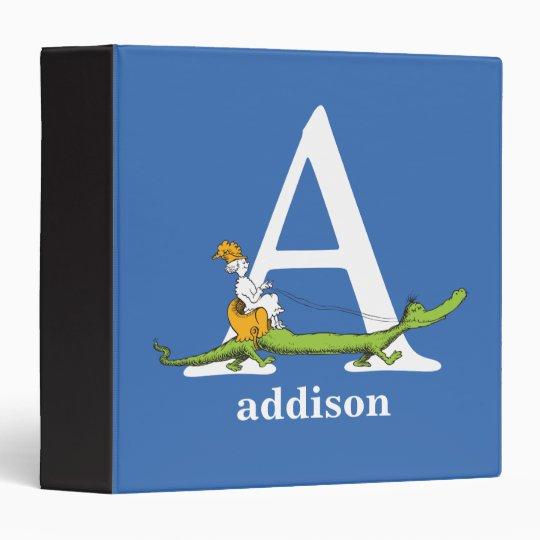 Dr. Seuss's ABC: Letter A - White