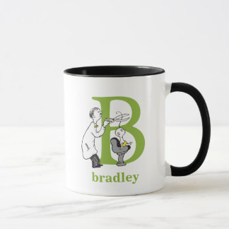 Dr. Seuss's ABC: Letter B - Green | Add Your Name Mug