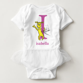 Dr. Seuss's ABC: Letter I - Purple | Add Your Name Baby Bodysuit