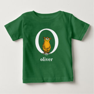Dr. Seuss's ABC: Letter O - White | Add Your Name Baby T-Shirt