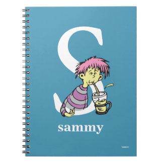 Dr. Seuss's ABC: Letter S - White | Add Your Name Notebook